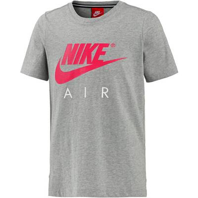 Nike T-Shirt Kinder DK GREY HEATHER/SIREN RED