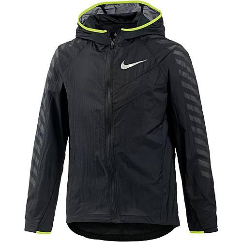 Nike Laufjacke Kinder BLACK/BLACK/VOLT