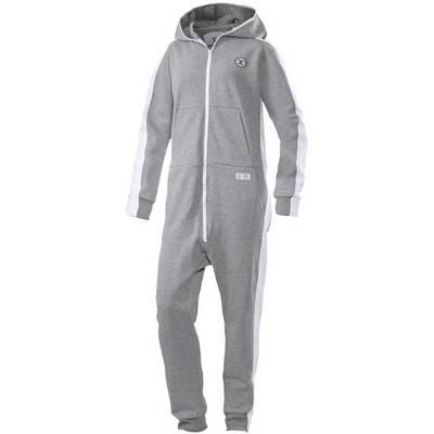 Onepiece Racer Jumpsuit grey mel