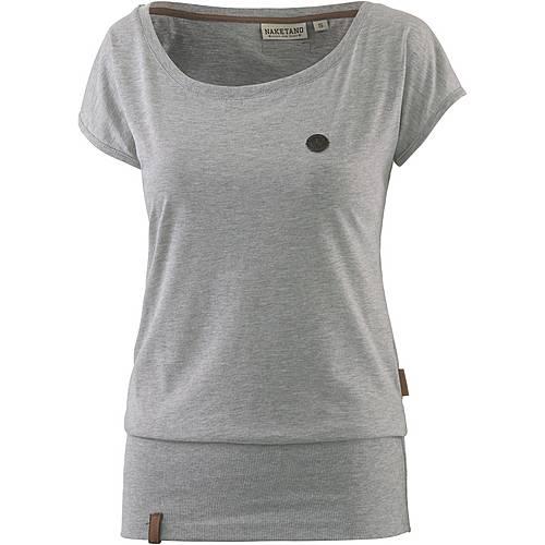 Naketano Wolle IX T-Shirt Damen grey melange