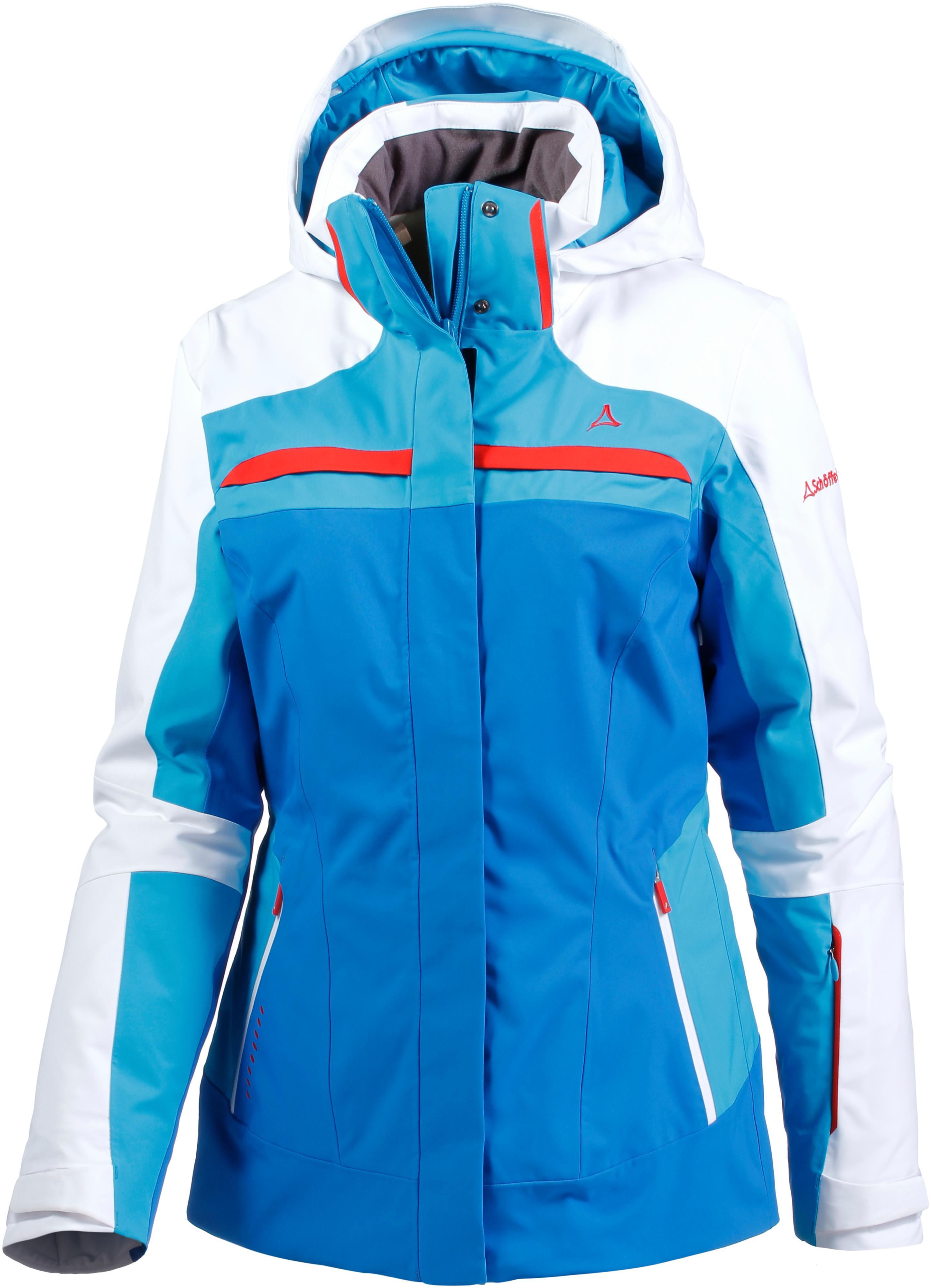 Skijacke damen 2 in 1