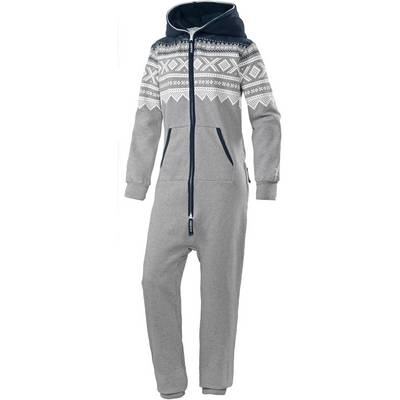 Onepiece Marius 2.0 Jumpsuit grey mel/white/navy