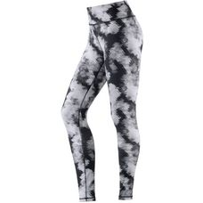 PUMA All Eyes On Me Tights Damen no color-periscope-white feather print