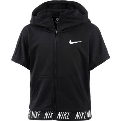 Nike Kapuzenshirt Kinder BLACK/WHITE
