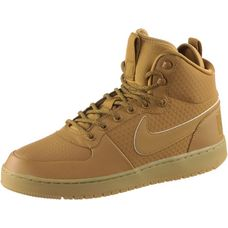 Nike COURT BOROUGH Sneaker Herren wheat-wheat-black-gum light brown
