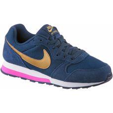 Nike MD Runner 2 Sneaker Kinder navy-metallic-gold
