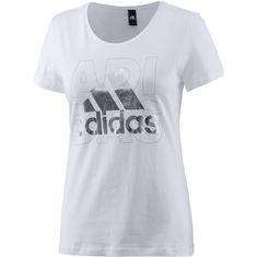 adidas Foil T-Shirt Damen weiß