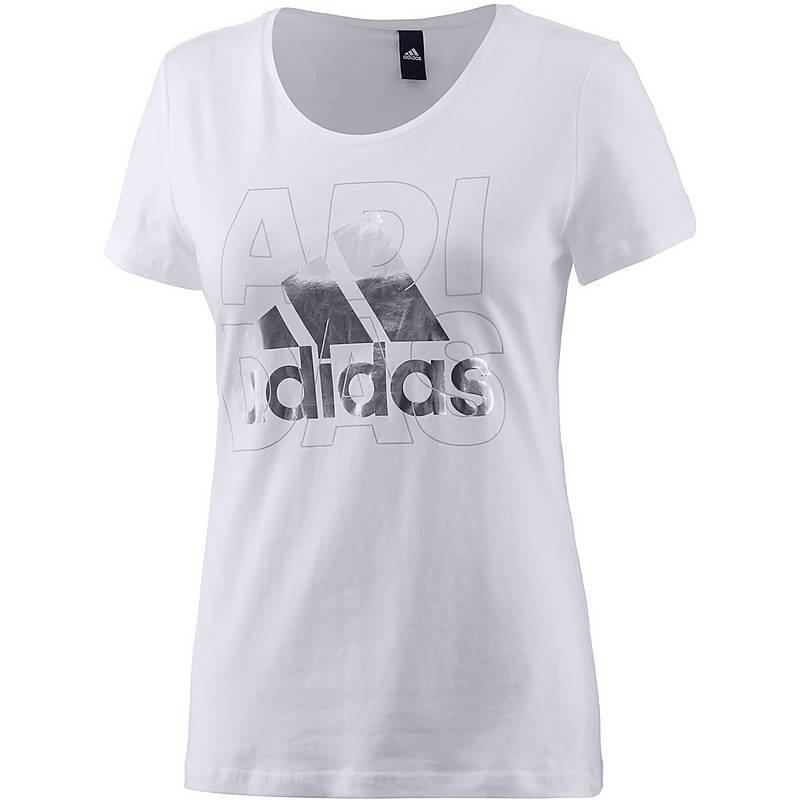 adidas shirt damen weiß