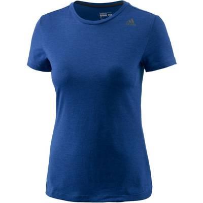 adidas Prime T-Shirt Damen blau/melange