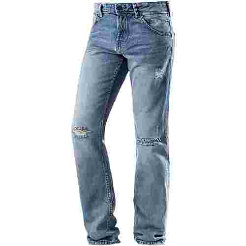 TOM TAILOR Aedan Slim Fit Jeans Herren destroyed denim
