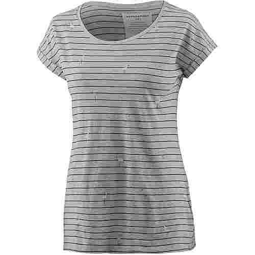 ARMEDANGELS T-Shirt Damen grey melange black