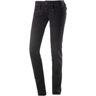 Herrlicher Pitch Skinny Fit Jeans Damen black denim