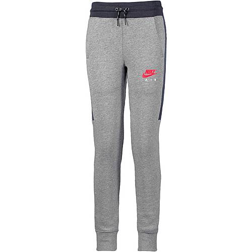Nike Sweathose Kinder CARBON HEATHER/ANTHRACITE/SIREN RED
