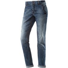 TOM TAILOR Anti Fit Jeans Damen mid stone wash denim