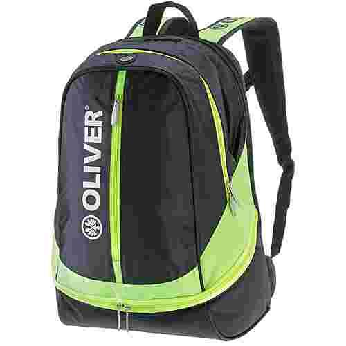 OLIVER Tennisrucksack schwarz/neongrün