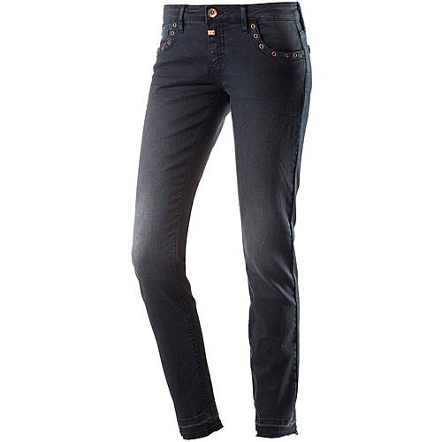 TIMEZONE Aleena Skinny Fit Jeans Damen washed black