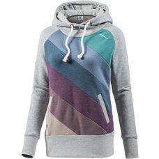 Mazine Hoodie Damen grey melange multi color