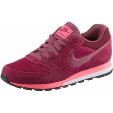 Nike WMNS MD RUNNER 2 Sneaker Damen NOBLE RED/PORT-HOT PUNCH