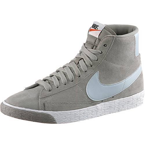 Nike WMNS BLAZER MID VNTG SUEDE Sneaker Damen COBBLESTONE/PURE PLATINUM-SUMMIT WHITE