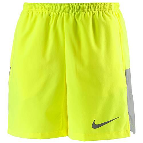 Nike Laufshorts Kinder VOLT/WOLF GREY/BLACK