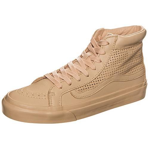 Vans Sk8-Hi Slim Cutout Sneaker Damen beige