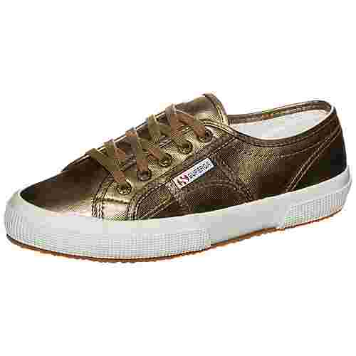 Superga 2750 Cotmetu Sneaker Damen bronze / weiß