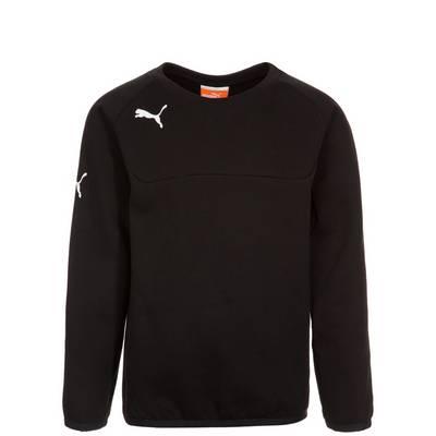PUMA Sweatshirt Kinder schwarz / weiß