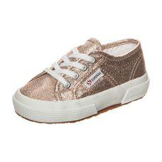 Superga 2750 Lameb Sneaker Kinder roségold