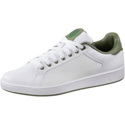 K-Swiss Clean Court Sneaker Herren weiß/grün