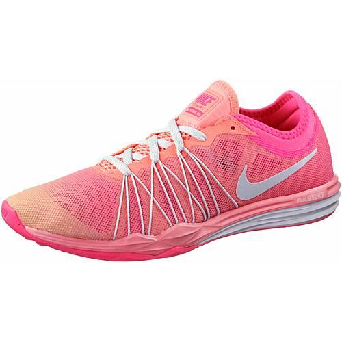 Nike Dual Fusion Trainer HIT Fade Fitnessschuhe Damen neonpink/lachs