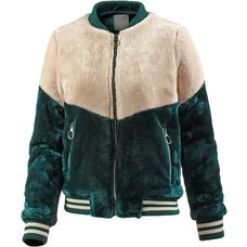 Bench Collegejacke Damen dark green