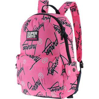 Superdry Rucksack Daypack Damen fluro pink