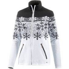 Luhta Venna Fleecejacke Damen black