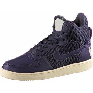 Nike COURT BOROUGH Sneaker Damen port wine-dark raisin-light bone
