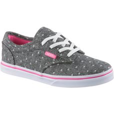 Vans Atwood Low Sneaker Kinder polka-dot-grey