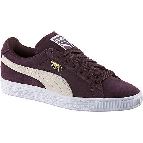 puma suede classic sneaker damen winetasting puma white im. Black Bedroom Furniture Sets. Home Design Ideas