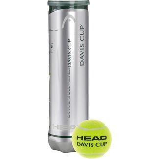 HEAD Davis Cup Tennisball gelb
