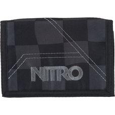 Nitro Snowboards Wallet Geldbeutel black checker