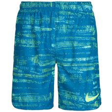 Nike Flex Vent Funktionsshorts Herren blau / neongelb
