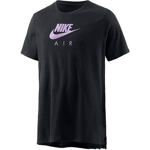 Nike Printshirt Herren schwarz