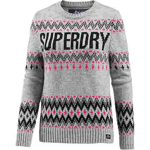 Superdry Strickpullover Damen grey marl