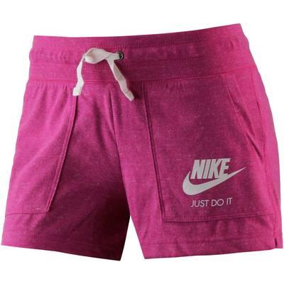 Nike Gym Vintage Shorts Damen fuchsia-melange