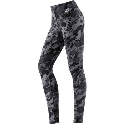 Nike Rock Garden Leggings Damen schwarz/grau