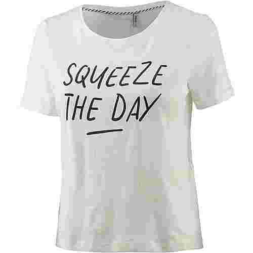 Only Benita T-Shirt Damen weiß/allover