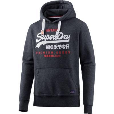 Superdry Sweatshirt Herren indigo meliert