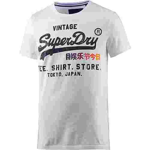 Superdry Printshirt Herren offwhite