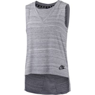 Nike Advanced Knit Tanktop Damen weiß/schwarz