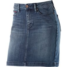 Tommy Hilfiger Jeansrock Damen pacific blue stretch