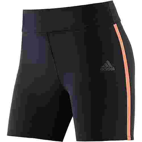 adidas Response Lauftights Damen schwarz/orange