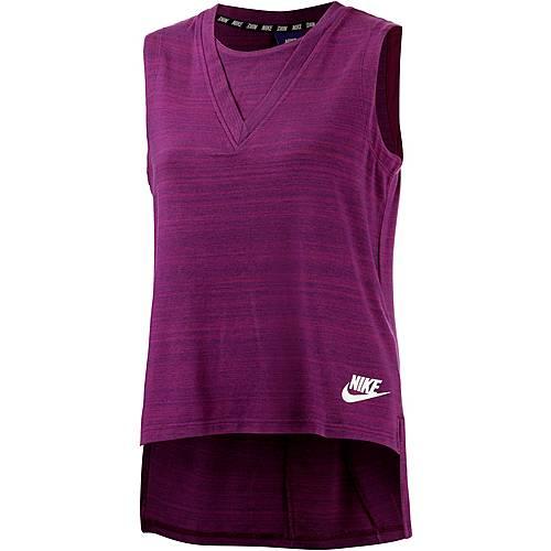 Nike Advanced Knit Tanktop Damen beere